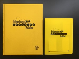 Mini Mastery Learning Folder