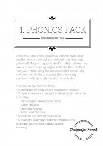 Phonics Pack